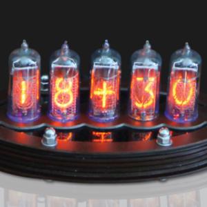 Nixie Clock V1 (DIY Kit, with copper top) – Lasermad Shop