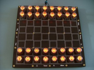 Nixie Chessboard Kit (£200)