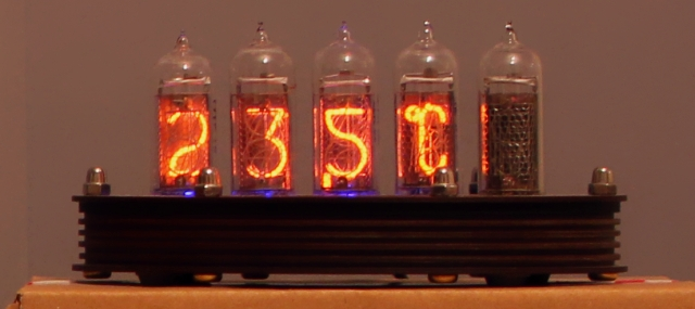 Nixie Thermometer on sale over at Thinkgeek.com!